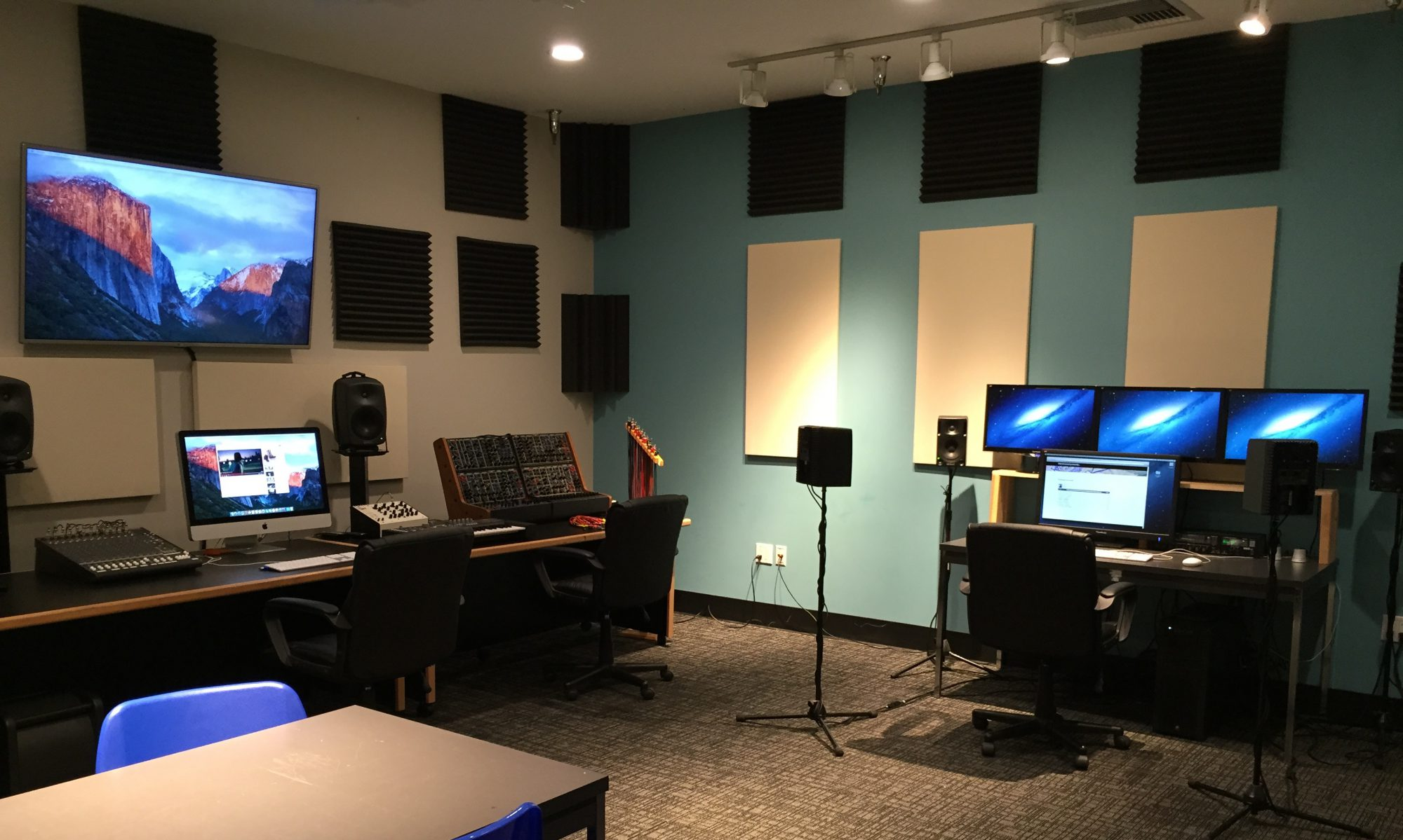 Electronic and Computer Music Studios